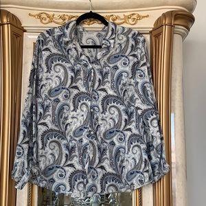 Women' Cotton Long Sleeve Shirt